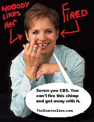 Katie couric fakes opinion
