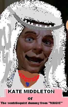 kate middleton teeth. When Kate Middleton walked