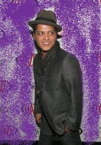 Bruno Mars Hosts New Year's Day At Haze Nightclub