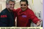 Sean Penn and Oliver Stone Mourn Chavez.  Both Share Same Mental Illness.