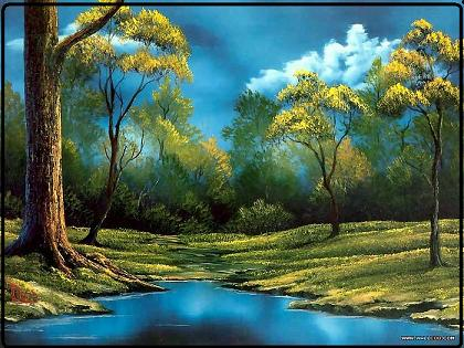 What are bob ross paintings worth a bob ross painting sold in yesterday at a private auction in aspen colorado usa an original bob ross creeks and cricks a landscape he painted on the air in 1985 sold at voltagebd Choice Image