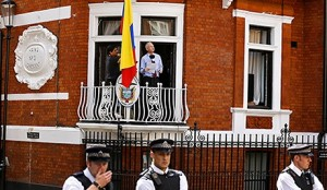 The Dump where Assange is a squatter,