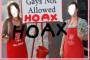 Anti Gay Salvation Army Story -  HOAX.  Gays Put To Death HOAX.