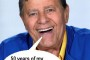Jerry Lewis Kicked Off Telethon -- Muscular Dystrophy Back To Being An Obscure Disease.